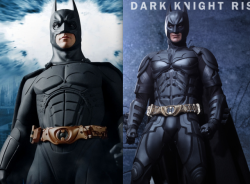 Hot toys vs Enterbay Batman Figure