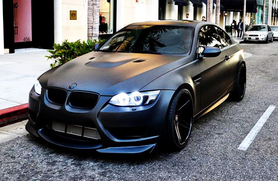 BMW Matt Black